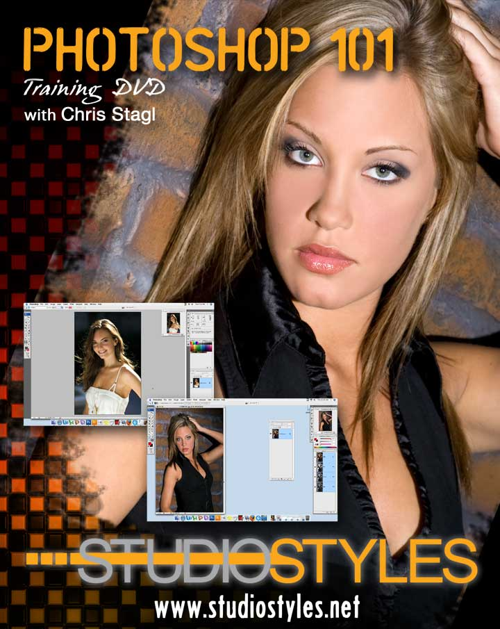 Photoshop 101 DVD Cover