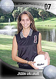 Volleyball Trading Card