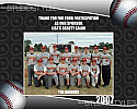 Baseball Sponsor/Coach Plaque