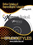 CD CONTAINING ALL EXPRESS DIGITAL TUTORIALS