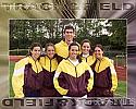School Track & Field Team Graphic