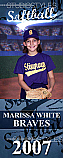 Softball Locker Poster