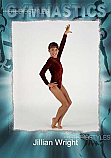 Gymnastics Designer Magnet