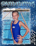 Legacy Sports Poster-Swimming
