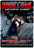 Game Day PSD - Huddle Shot Photo Pad