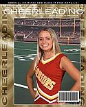 School Cheerleading Magazine Cover