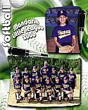 Softball Designer Memory Mate