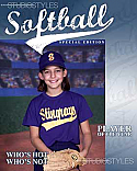 Softball Magazine Cover