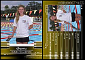 Swimming Trading Card