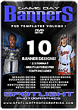Game Day PSD - Banners Vol. 1