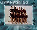 Gymnastics Team Graphic